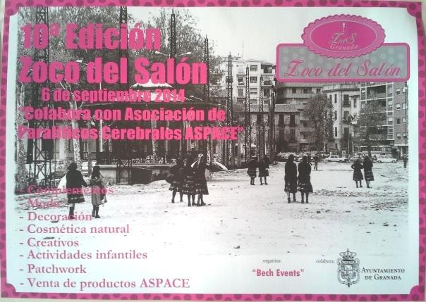 10ª edición zoco del salon del Ayuntamiento de Granada