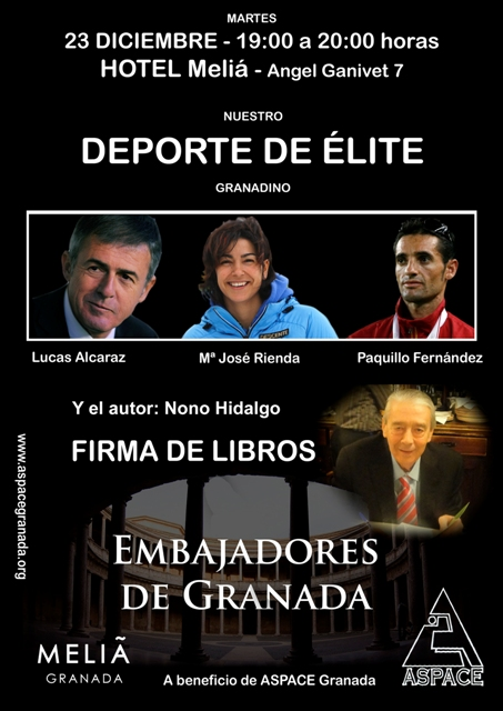 Cartel firma Embajadores de Granada
