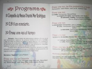programa grupo teatro navidad aspace