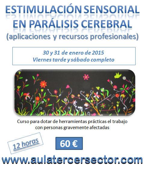 2ª Edición curso Estimulación Sensorial en parálisis cerebral