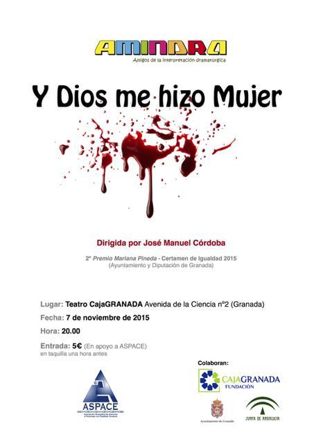 Teatro AMINDRA en apoyo a ASPACE