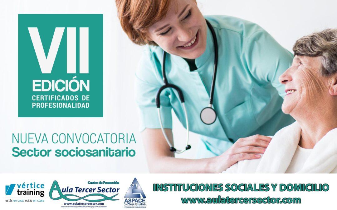 CERTIFICADO DE PROFESIONALIDAD OFICIAL CUIDADORES INSTITUCIONES Y DOMICILIO