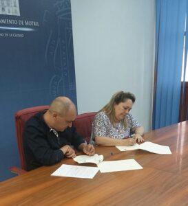 Firma convenio ayuntamiento motril