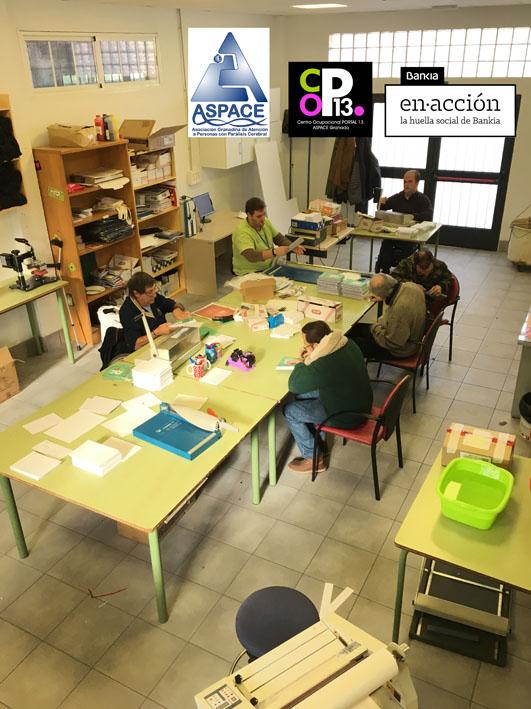 Centro ocupacional archivos aspace granada for Bankia cajero mas cercano