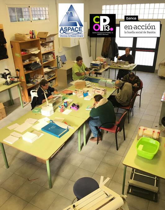 BANKIA apoya la reforma y ampliación del Centro Ocupacional de ASPACE Granada