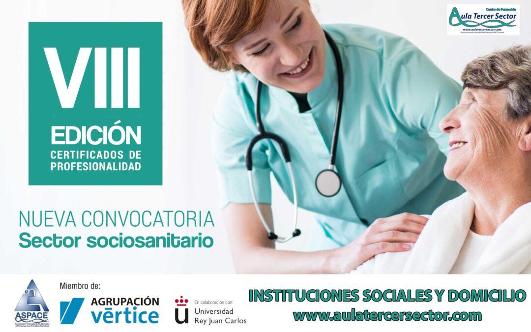 CERTIFICADO OFICIAL PARA CUIDADORES EN INSTITUCIONES SOCIALES Y DOMICILIO – ÚLTIMA CONVOCATORIA 2017