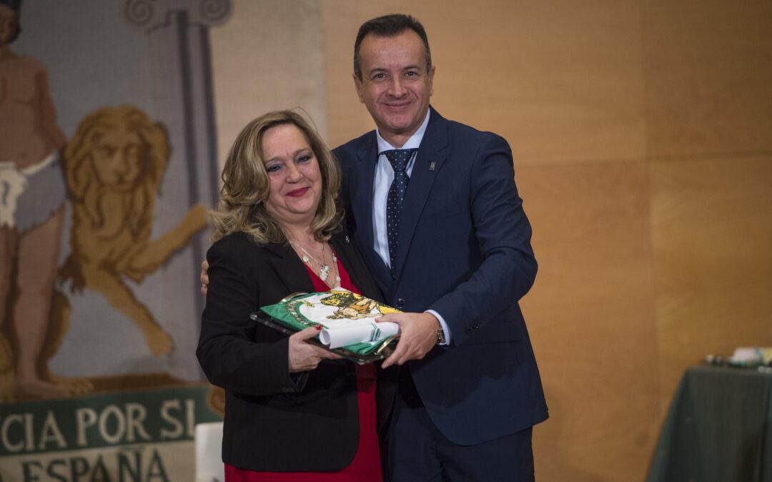 ASPACE Granada recibe la Bandera de Andalucía 2018