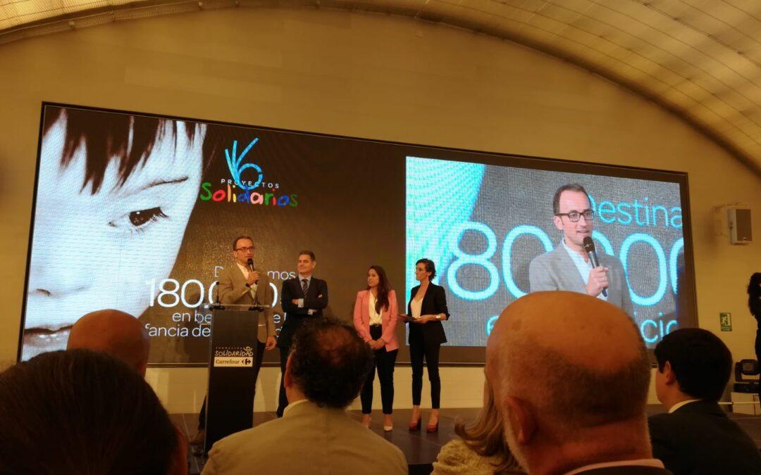 Carrefour y su Fundación donan 30.000 € a ASPACE Granada
