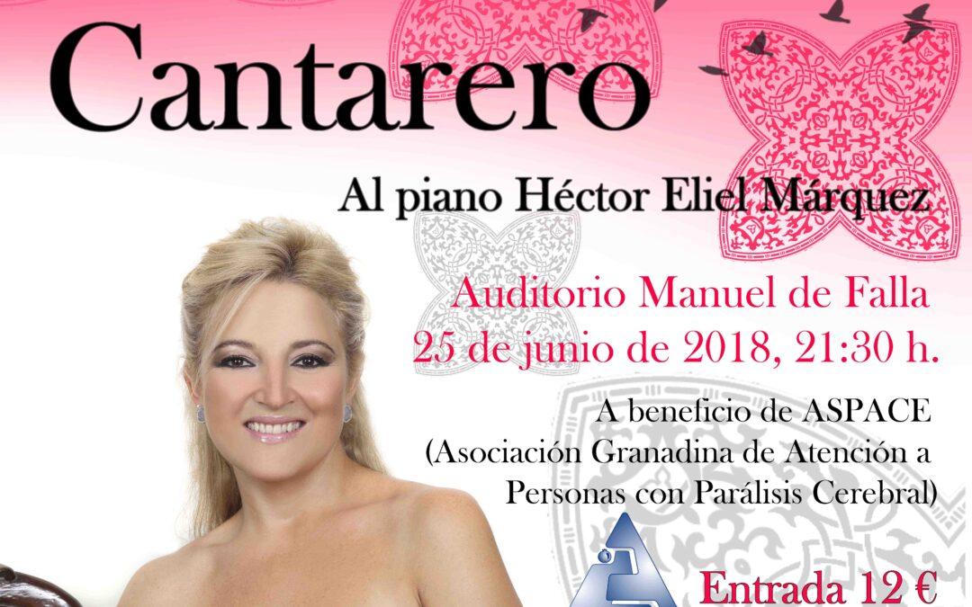 MARIOLA CANTARERO OFRECE UN CONCIERTO A BENEFICIO DE ASPACE