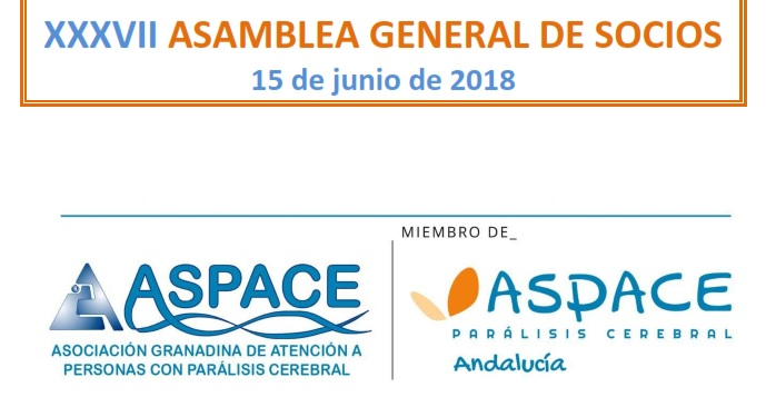 CONVOCATORIA XXXVII ASAMBLEA ANUAL DE SOCIOS ASPACE