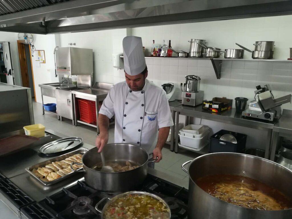 Cocina especializada ASPACE Granada