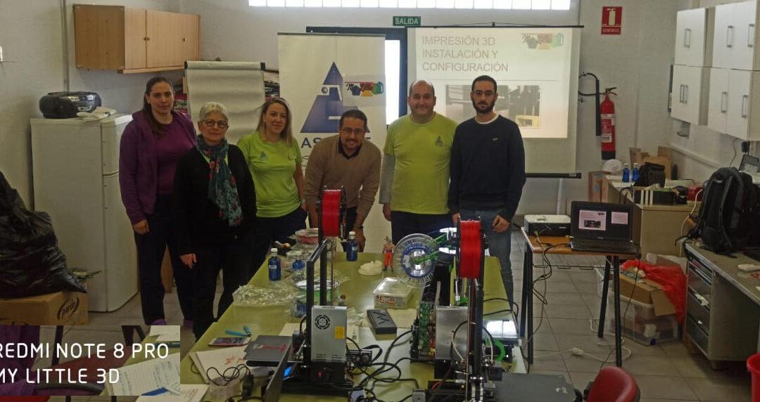 ASPACE Granada apuesta por la impresión 3D