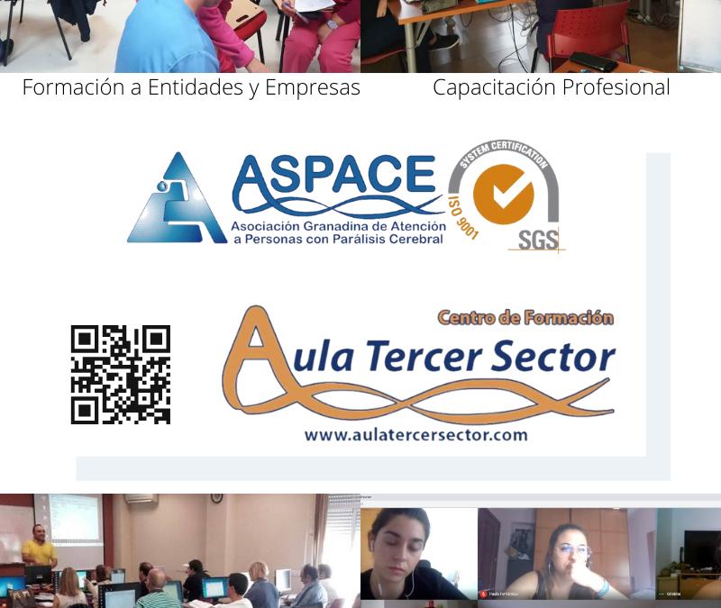 ASPACE GRANADA OBTIENE PARA SU CENTRO DE FORMACIÓN LA CERTIFICACIÓN DE CALIDAD ISO 9001:2015