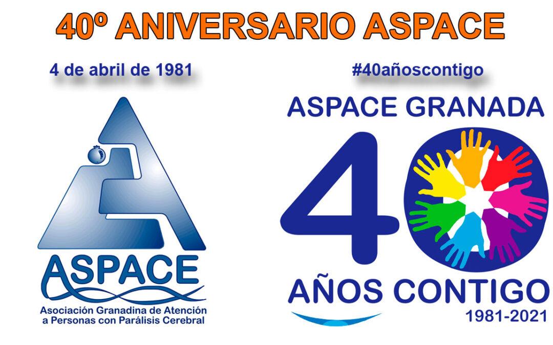 Actividades previstas con motivo del 40º Aniversario ASPACE